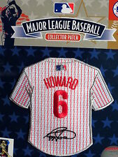 MLB Philadelphia Phillies Ryan Howard Facsimile Autograph Mini-Jersey Patch