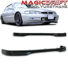 Made for 96-97 Honda Accord 4-cyl SOHC JDM Front Bumper PU Lip URETHANE TR