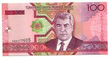 Turkmenistan   100 manat  2005     FDS UNC     Pick 18    Lotto 3418