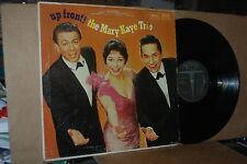 THE MARY KAYE TRIO: UP FRONT!: 1960 VERVE 2142 VG++ LP; NOT ISSUED ON CD