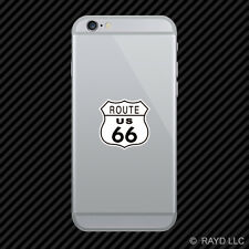 US Route 66 Cell Phone Sticker Mobile Die Cut highway #4