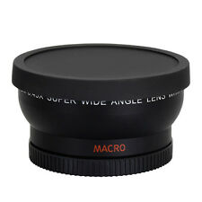58mm 0.45X Macro Wide Angle Len for Canon EOS 1000D 1100D 500D Rebel T1i T2i T3i