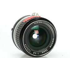 Nikon Nikkor 24mm F2.8 AIS Manual Focus Wide Angle Lens Haze Scratches