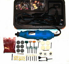 Jewellery / Craft Polishing Kit With Rotary Hobby Tool & Polishing Accessories