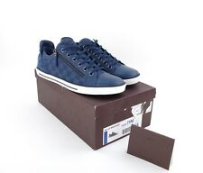 New in box Authentic LOUIS VUITTON Sneaker shoe Blue Damier Canvas 9.5 10.5 US