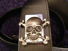 REBEL GUITAR STRAP METAL SKULL LIGHTER - SYNYSTER GATES of AVENGED SEVENFOLD