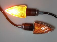 ►2X HALOGEN MINI BLINKER ANGEL GELB BIRNE KTM 600 Country,600 Enduro,640 Duke/II