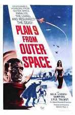 Plan 9 From Outer Space Poster 01 A2 Box Canvas Print