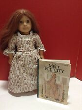 American Girl Felicity Doll Pleasant Company Red Hair + Meet Felicity Book HC