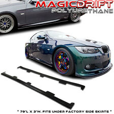 DTM Style BMW E92 3-Series M3 335i 328 325 330  VIP Flat Side Skirts Extensions