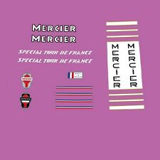 Mercier Special Tour de France 1960s/70s Decals, Transfers, Stickers n.240