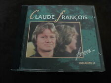 "CD ""CLAUDE FRANCOIS FOR EVER, VOLUME 2"" best of 13 titres"