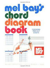 MEL BAY CHORD DIAGRAM BOOK MUSICAL INSTRUMENT CLEARANCE