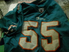 - Junior Seau  Miami Dolphins   jersey youth XL