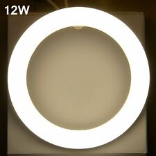 2pcs x 12W Circular LED Tube G10Q Warm white 3000K 225mm T9 round tube light