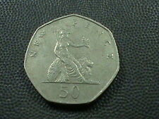 GREAT  BRITAIN   50 pence  1969