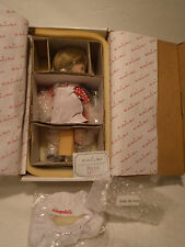 """New - Campbell Kids""""The Dancing Chef"""" Porcelain Doll W/Stand Danbury Mint 1996"""