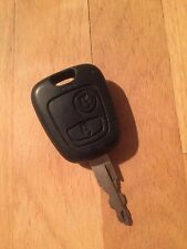 Used Peugeot 206 Remote Key Fob - Genuine Part - 2001 +