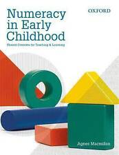 Used Book:  Numeracy In Early Childhood: Shared Contexts For Teaching & Learning