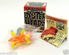 Rockin' Jelly Bean Oyster Headz Time Capsule Art Toy Vinyl Figure BONZO NIB