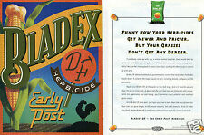 1994 Bladex DF Early Post DuPont Corn Herbicide 2 Page Print Ad