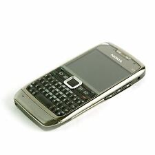 Sim Free Nokia E71 AZERTY Unlocked 3G Camera Mobile Smartphone - Grey Steel