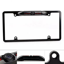 US License Frame Mount Car Reverse View Backup Camera Waterproof Night Vision