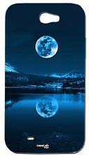 CUSTODIA COVER CASE LUNA RIFLESSO LAGO CIELO PER SAMSUNG GALAXY NOTE 2 N7100