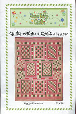 Quilts within a Quilt ~ Quilt Quilting Pattern ~ by Green Fairy Quilts