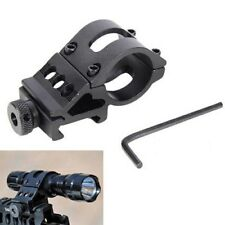 1Inch 25.4mm Flashlight Torch Laser Rifle Scope Mount Weaver 20mm Picatinny Rail