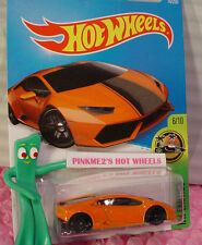 2016 Hot Wheels LAMBORGHINI HURACAN LP610-4 #76 ✰Orange; pr5✰HW Exotics✰Case B