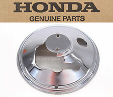 New Genuine Honda Chrome Speedo Tacho Plate 1969-1972 CB750 K0-K2 OEM #C86