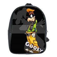 Goofy Disney Cartoon Mickey Girls Mens Backpack School Notebook Purse Bags