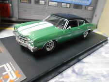 CHEVROLET Chevelle SS Coupe 1970 V8 Muscle green grün met IXO PremiumX 1:43