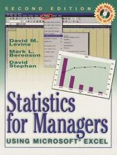 Statistics for Managers Using Microsoft Excel (2nd Edition)-ExLibrary