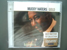 Muddy Waters - Gold, Definitive Collection, Neu OVP, 2 CD Set