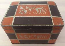 alte Blechdose Dose Art Deco Weeser Keks Mischung