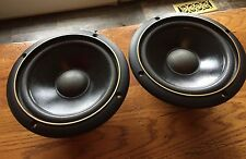 "A+ Pair Infinity SM Reference 7"" Woofers Speakers 902-6683"