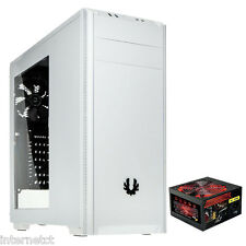 BITFENIX NOVA WHITE SIDE WINDOW PANEL - 650W 6-PIN PSU - ATX MICRO ATX MINI ITX