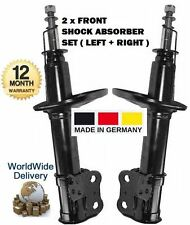 FOR TOYOTA AVENSIS T22 1997-2003 2X FRONT LEFT + RIGHT SIDE SHOCK ABSORBER SET