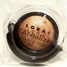 Lorac TANTALIZER Baked Face & Body Bronzing Powder Bronzer Travel Size Packaged