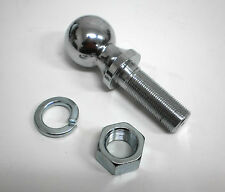 "2"" Heavy Duty Chrome Trailer Hitch Ball 10,000 Rated Class V 2 x 1.25 x 2.6"