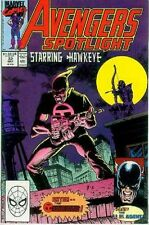 Avengers Spotlight # 32 (Hawkeye, USAgent) (USA,1990)