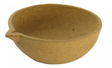 ALUMNA STONE CERAMIC MELTING POT FOR SILVER GOLD COPPER METAL JEWELRY MOLD