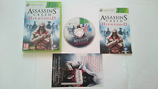 ASSASSIN´S CREED LA HERMANDAD COMPLETO PAL MICROSOFT XBOX 360 ESPAÑA