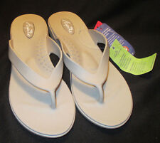 "New Okabashi Aspire Womens sz ML (8-9) Theraputic, ""Dove"" Color Flip Flops"