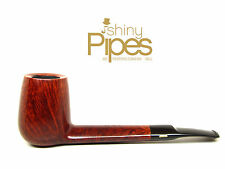 SAVINELLI Deluxe Vintage 70's KING SIZE Estate Pipe Brass Bar Inlay- a83