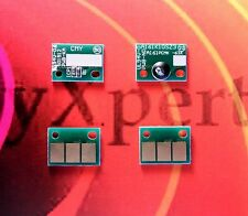4 x Drum Reset Chip Bizhub C258 C308 C368 Develop ineo +258 +308 +368 CMYK DR313