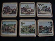 Vintage Pimpernel Coaster Set Made in England