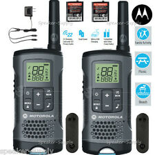 Motorola Talkabout T200 Walkie Talkie 2 Pack Set 20 Mile Two Way Radio Package